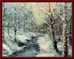 Kış 40X55 cm - 1999
