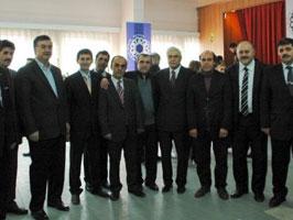 Bayburt milletvekili ve yerel yöneticilerle...