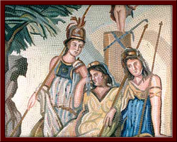 Üç Güzeller (Three Graces) 117X139 cm - 2003